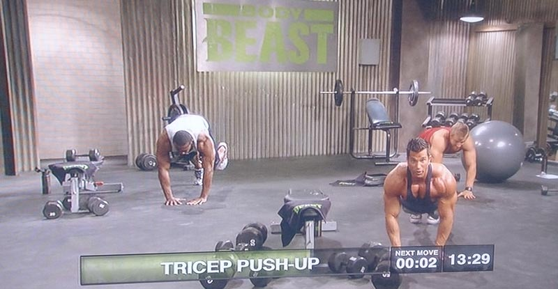 tricep-push-up